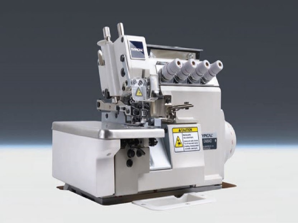 High speed 4-thread overlock machine