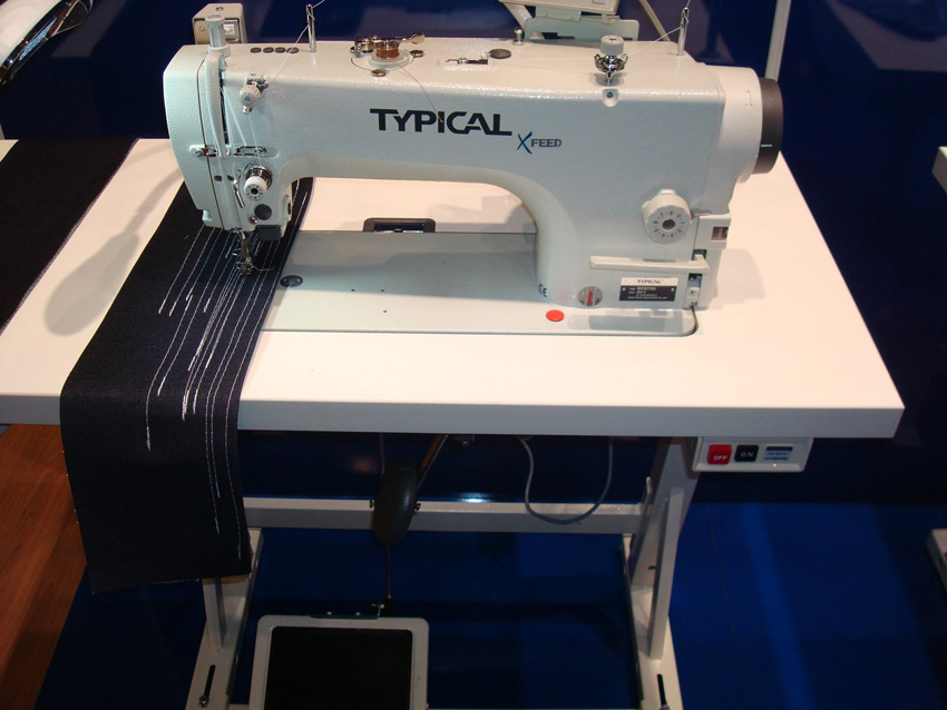 Direct-Drive High-Speed Lockstitch Sewing Machine with Drop and Needle Feed