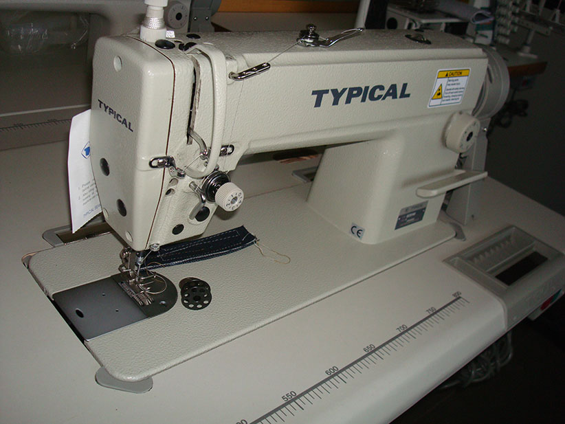 High-Speed Lockstitch Sewing Machine with Drop & Needle Feed