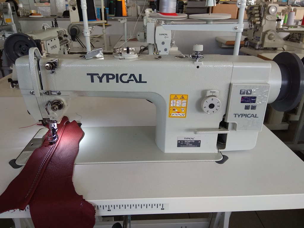 Compound Feed Lockstitch Sewing Machine