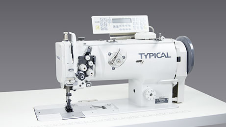 Two Needle Compound Feed Lockstitch Sewing Machine