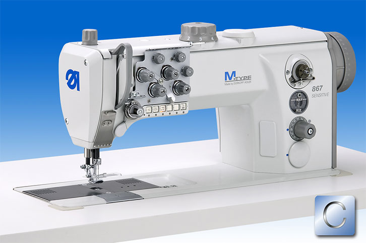 M-TYPE needle feed machine SENSITIVE with integrated direct drive – the specialist for fine materials