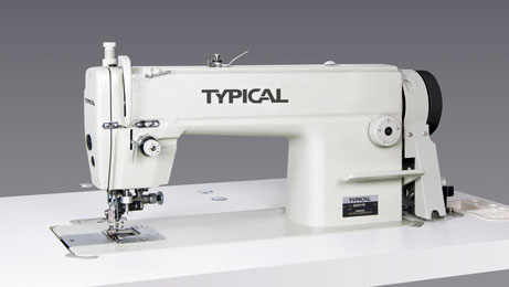 Sewing Machine with Drop Feed and Edge Trimmer