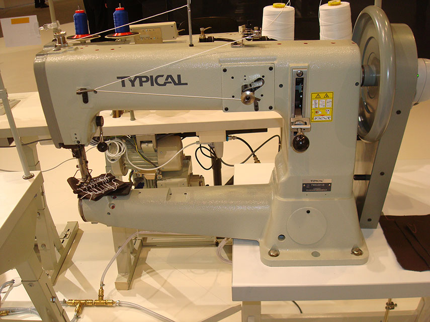 Extra Heavy-Duty Compound Feed Cylinder Arm Lockstitch Sewing Machine