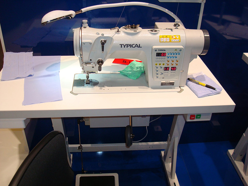 Electronic High-Speed Zig Zag Lockstitch Sewing Machine