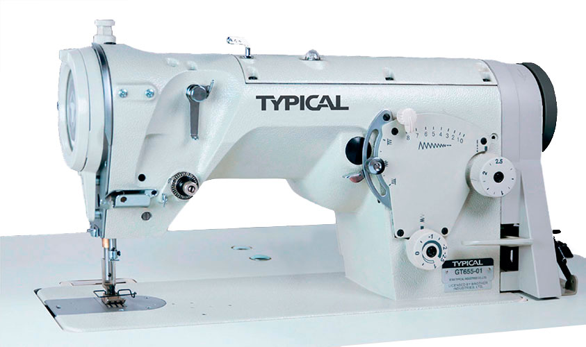 High-Speed Zig Zag Lockstitch Sewing Machine