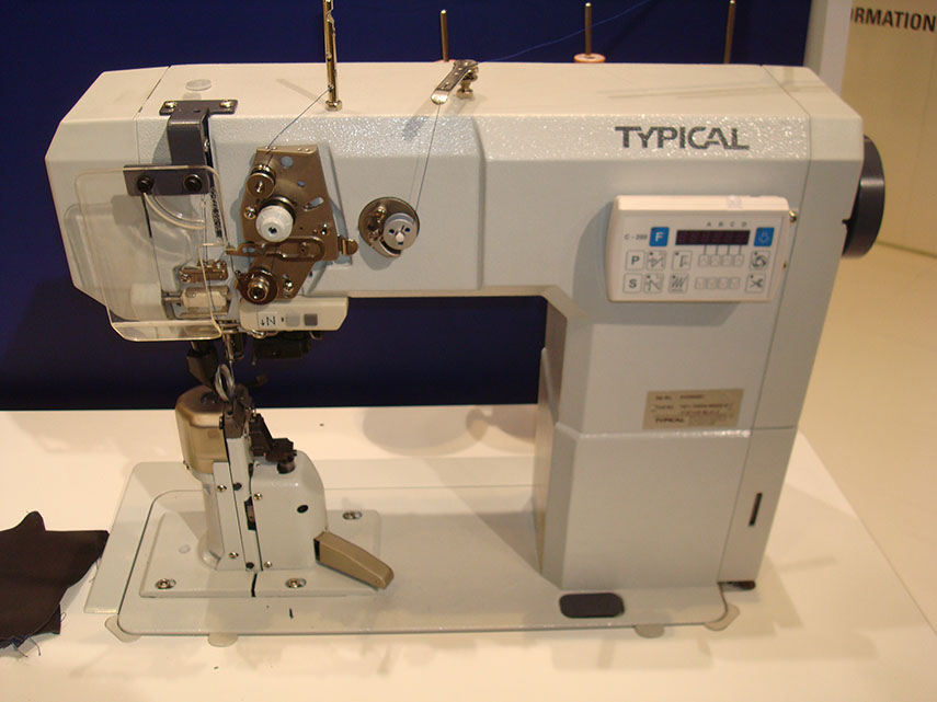 One and Two Needle Post-Bed Lockstitch Sewing Machine