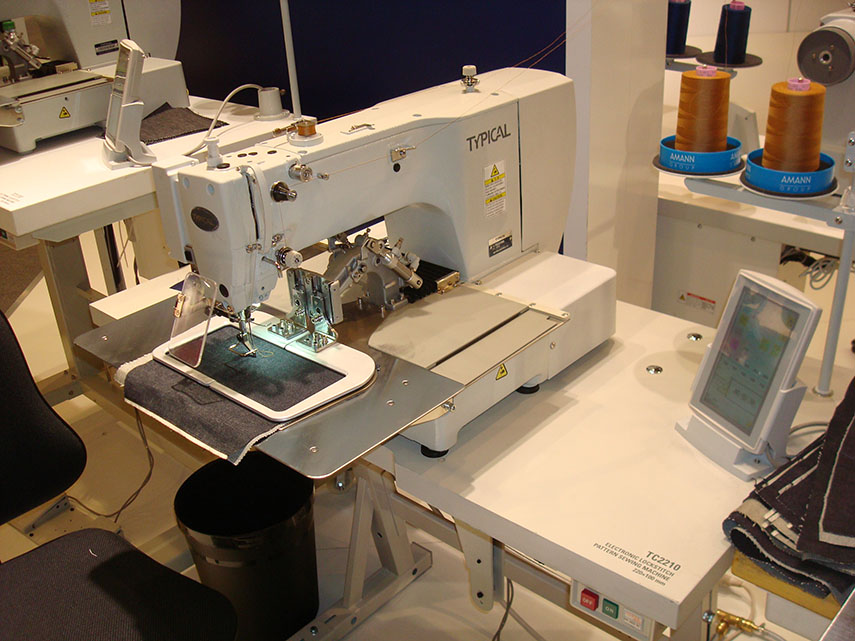 Electronic Lockstitch Pattern Sewing Machine